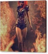 Sci-fi Beauty 4 Canvas Print
