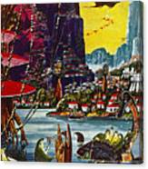 Science Fiction Cover, 1941 Canvas Print
