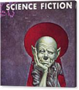Science Fiction Cover, 1954 Canvas Print