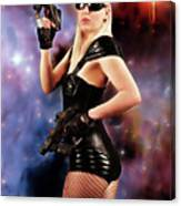 Scifi Heroine Canvas Print