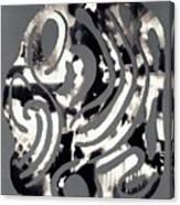 Scissor-cut Abstraction Canvas Print