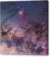 Scorpius With Parts Of Lupus And Ara Canvas Print