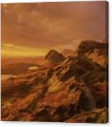 Scotland, My Home Canvas Print