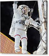 Scott Kelly, Expedition 46 Spacewalk Canvas Print