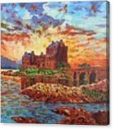 Scottish Castle - Eilean Donan Canvas Print
