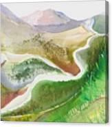 Scottish Glen Canvas Print