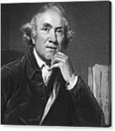 Scottish Surgeon John Hunter Canvas Print