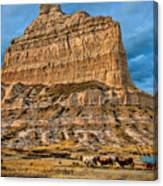 Scotts Bluff National Monument Canvas Print