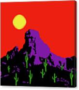 Scottsdale Mountain Canvas Print