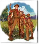 Scoutmaster Canvas Print
