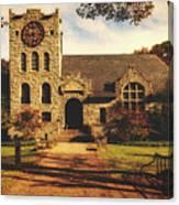 Scoville Memorial Library - Salisbury, Connecticut Canvas Print