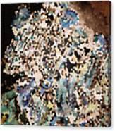 Scrap Yard Mosaic Canvas Print