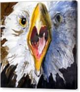 Screaming Eagle 2004 Canvas Print
