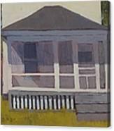 Screened Porch - Art By Bill Tomsa Canvas Print