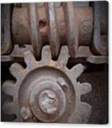 Screw And Gear  Canvas Print