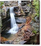 Screw Auger Falls - Maine  Canvas Print
