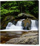 Screw Auger Falls Upper 2 Canvas Print