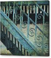 Scrolled Staircase By H H Photography Of Florida Canvas Print