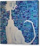 Scruffy The Cat Canvas Print