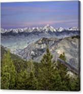 Scull Canyon Canvas Print