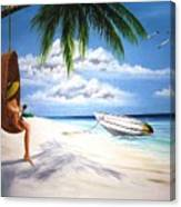Scully's Boat Canvas Print