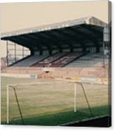 Scunthorpe United - Old Showground - East Stand 2 - 1970s Canvas Print
