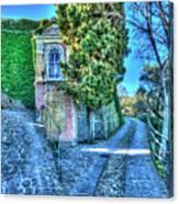 Sea And Mountains Hike Narrow Roads - Creuza De Ma E Creuza De Munte Canvas Print