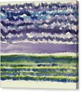 Sea And Sky Canvas Print