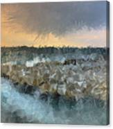Sea And Stones Canvas Print