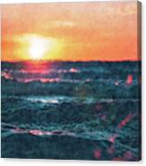 Sea And Sun Canvas Print