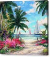 Sea Breeze Trail Canvas Print