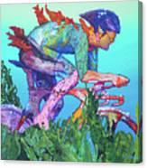 Sea Cycler Canvas Print