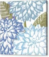 Sea Dahlias I Canvas Print