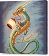 Sea Dragon And Lantern Canvas Print