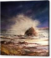 Sea Drama Canvas Print