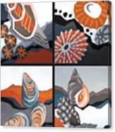 Sea Floor Canvas Print