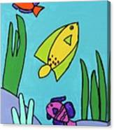 Sea Frolic Canvas Print