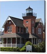 Sea Girt Lighthouse - N J Canvas Print