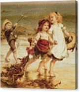 Sea Horses Canvas Print