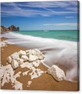 Sea In Motion Canvas Print