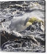 Sea In Turmoil Canvas Print