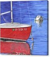 Sea-ing Red Canvas Print