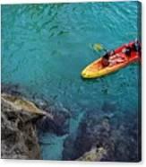 Sea Kayaking Canvas Print