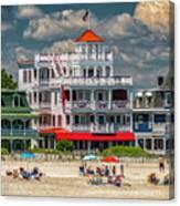 Sea Mist Hotel Canvas Print
