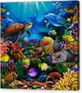 Sea Of Beauty Canvas Print