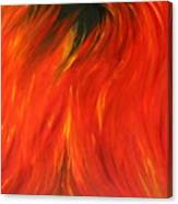 Sea Of Flames Canvas Print