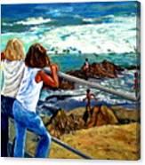 Sea Point Summer Canvas Print
