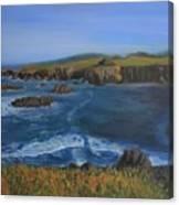 Sea Ranch In Spring Canvas Print