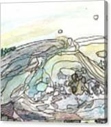 Sea Rock Canvas Print