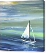 Sea Row Canvas Print